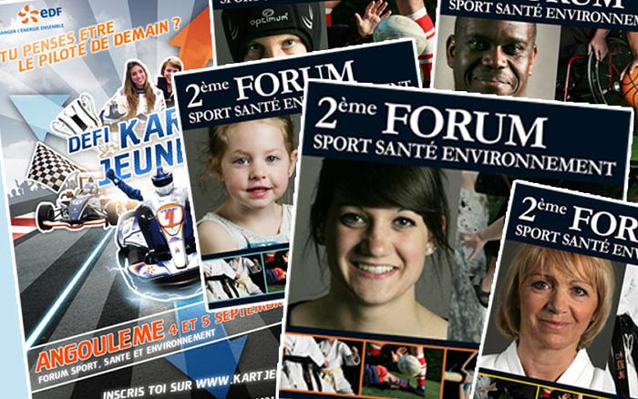 forum sport santé et environnement 2010 kart jeunes