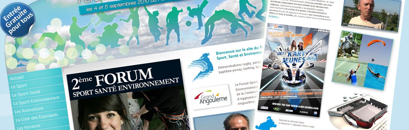forum sport santé et environnement 2010