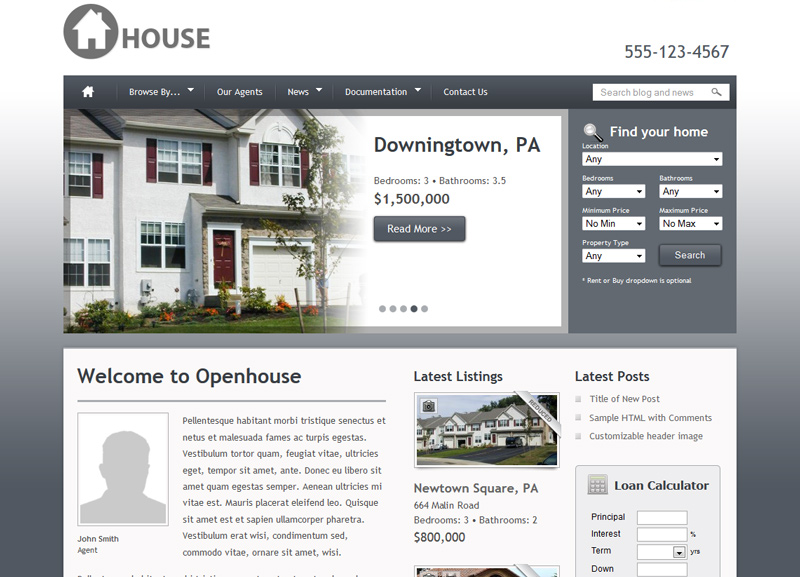 6114810eeec62f Création de site Internet pour les agences immobilières ...