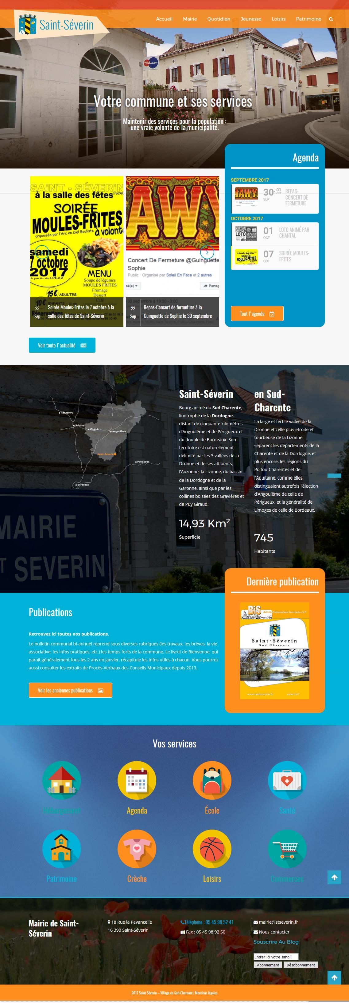 Créer un site pour une mairie